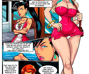comics Piccolina And Ricolina, anal , futanari
