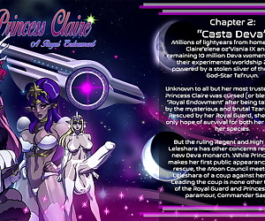 comics Princess Claire 2 - Casta Deva - part 3, threesome , anal  shemale