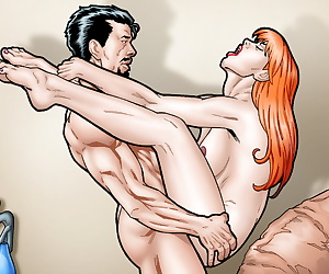 comics Leandro Comics: Tony Starks fucks Mary.., mary jane watson , iron man - tony stark , muscle  anal