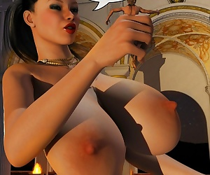 comics RedfireDog- Roman Nights, blowjob  big boobs