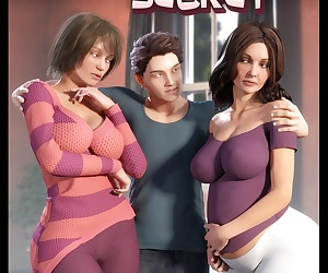comics NLT Media- Sister's Secret, threesome , incest  brother