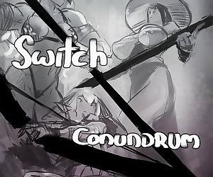 comics Asera- Unforseen Switch Conundrum, group , monster