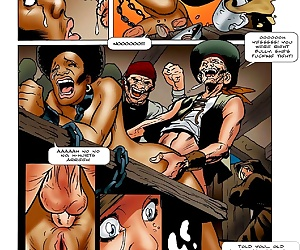 comics Bondage on the Wild Seas, group , bondage  forced