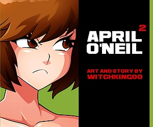 comics April O'Neil 2- Witchking00, lesbian  big boobs