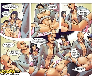 comics Lustomic – Galaxy Trap 2 –, blowjob , group  forced