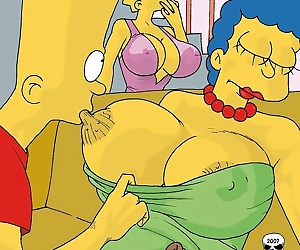 comics The Simpsons- Marge Exploited, mom  incest