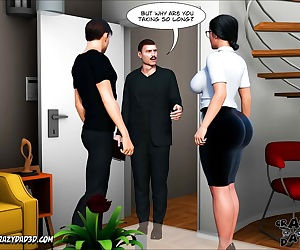 comics CrazyDad- The Shepherd's Wife 9, incest , 3d  big boobs