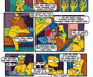 comics A Day In The Life Of Marge - part 2, threesome , incest