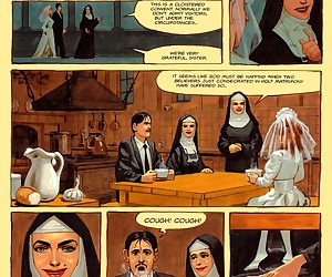 comics The Convent Of Hell - part 4, rape  threesome