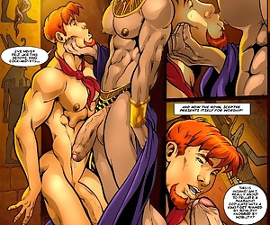 comics The Incredibly Hung Naked Justice 2 -.., rape , yaoi