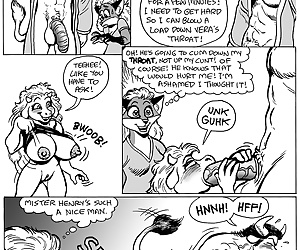 comics Program Switch - part 4, furry  orgy