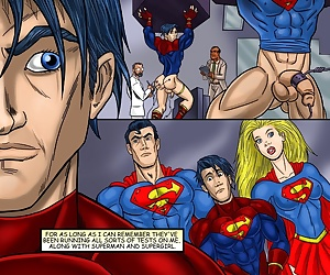 comics Superboy, threesome , yaoi