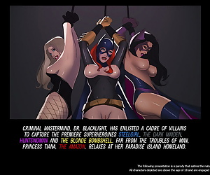 english comics Slave Crisis #4 - Gift From a Goddess, wonder woman , batman , blowjob , muscle