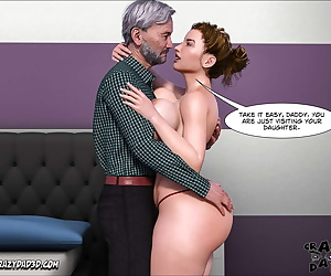 english comics Father-in-Law at Home 8 - part 2, blowjob , threesome  group