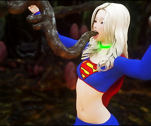 comics CGS 112 - Supergirl Peril, supergirl , blowjob , kissing