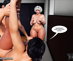comics Mother - Desire Forbidden 8 - part 2, netorare , blowjob  group